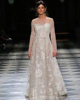 yolancris sweetheart embellished long sleeves wedding dress spring 2018