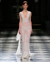yolancris v-neck sheath wedding dress spring 2018