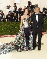 Amal Clooney and George Clooney 2018 Met Gala