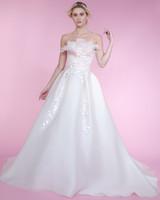 angel sanchez a-line spring 2018 wedding dress