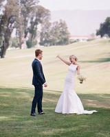 ashlie adam alpert wedding first look