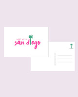 bachelorette party invites etsy postcards