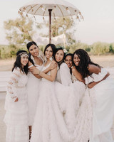 best dressed bridesmaids cinzia bruschini