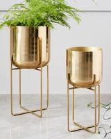 bronze anniversary gift planter