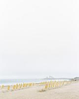 beach front wedding ceremony