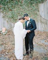 bride groom first look