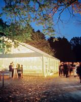 wedding reception night