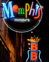 city honeymoon destinations memphis neon signs