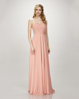 coral bridesmaid dress theia 91014 blaire