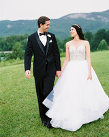 dani jackson wedding couple with mountain backdrop