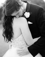 dani jackson wedding couple embrace
