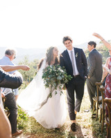 daphne jack wedding spain recessional