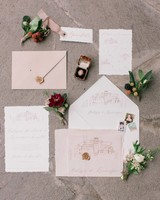 deckle edge invitations koman photography