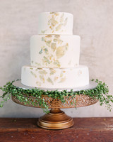 fall wedding cakes this modern romance
