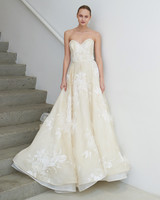 francesca miranda wedding dress spring 2019 strapless ivory white