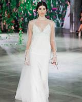 Galia Lahav Spaghetti Strap Wedding Dress Fall 2018