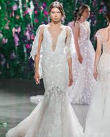 Galia Lahav Mermaid with Cape Wedding Dress Fall 2018
