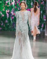 Galia Lahav High Neck Wedding Dress Fall 2018