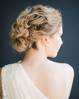 hannah steve wedding california updo