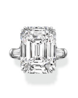 Harry Winston Emerald-Cut Engagement Ring