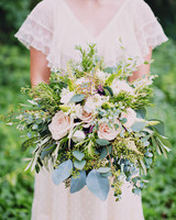 spring herbal floral bouquet