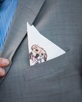 dog pocket square
