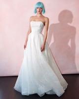 isabelle armstrong wedding dress spring 2019 strapless gathered a-line
