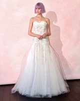 isabelle armstrong wedding dress spring 2019 pleated lace tulle a-line
