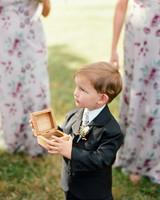 jen geoff wedding ring bearer