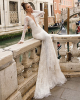 long sleeve trumpet julie vino wedding dress spring2018