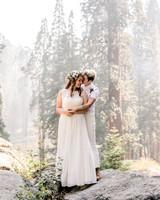 kelly kelsey wedding brides on rocks