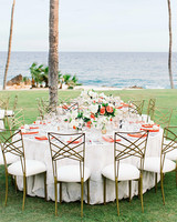 kourtney justin wedding mexico table