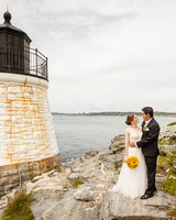Lighthouse Couple Portrait