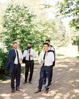 linda robert wedding groomsmen
