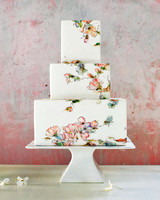 maggie austin square watercolor cake