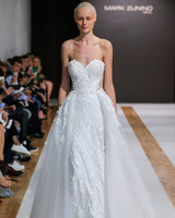 mark zunino wedding dress fall 2018 sweetheart lace a-line