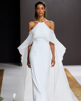 mark zunino wedding dress fall 2018 halter overlay flowy