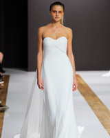 mark zunino wedding dress fall 2018 sweetheart flowy train