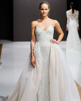 mark zunino wedding dress fall 2018 strapless beaded tulle overlay