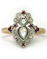 Megan Thorne Pear-Cut Engagement Ring