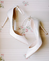 melissa michael brides shoes jimmy choo
