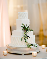 micro tier wedding cakes one square layer