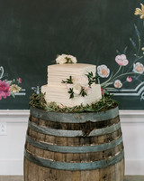 paige and kristine wedding cake
