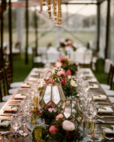 rustic wedding centerpieces frosted glass vases