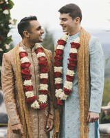 sanjay steven wedding grooms