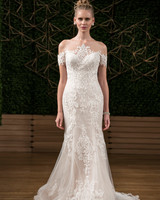sottero midgley wedding dress fall 2018 off the shoulder lace trumpet