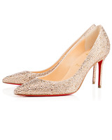 "Christian Louboutin ""Decollette 544 Strass"" Heels"