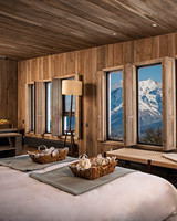 resort bedroom mountains