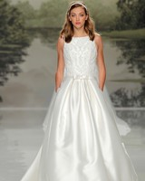 st patrick lace belted spring 2018 wedding gown