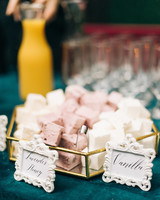summer reception ideas smores snacks
